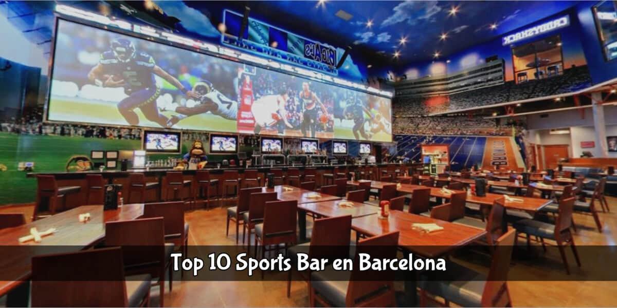 Top sports bar de Barcelona